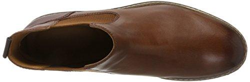 Clarks Herren Blackford Top Chelsea Boots Braun (British Tan Lea)