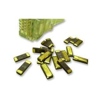 CRYSTAL, SM, 32.768KHZ, 4.1X1.5MM X32K768S021 Pack Of 5 By AEL CRYSTALS