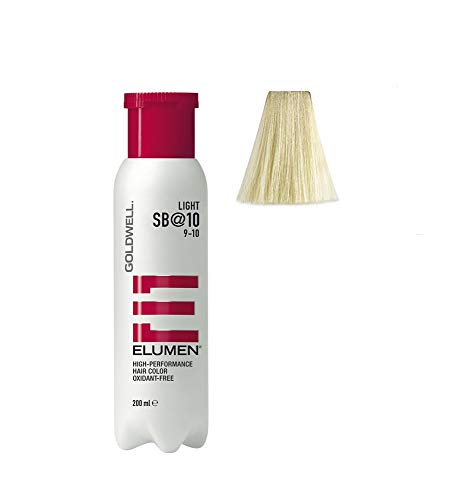 Goldwell Elumen Light Haarfarbe 10 SB, 1er Pack, (1x 200 ml) -