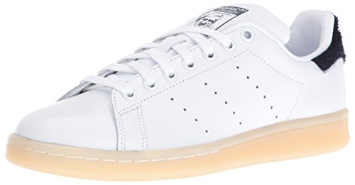 Adidas Womens Stan Smith Leather Trainers Ftwwht/Ftwwht/Conavy