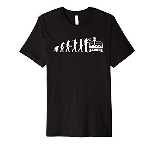 Zerspanungsmechaniker T-Shirt Evolution Dreher Fräser -