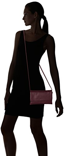 Tamaris - Louise Crossbody Bag S /Pack 4 Pcs, Borse a tracolla Donna Rosso (Vino)