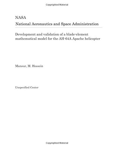 Development and validation of a blade-element mathematical model for the AH-64A Apache helicopter