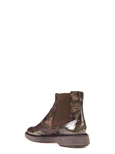 Geox Damen D Prestyn D Chelsea Boots Braun