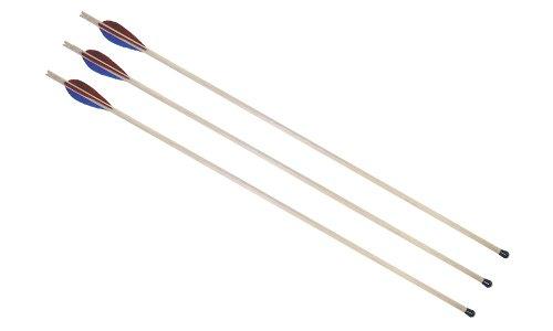 Holzspielerei Sportpfeil mit Pfropfen 68 cm