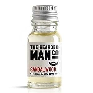 Sandalwood The Bearded Man Huile à barbe 10 ml