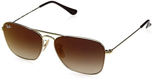 Preisvergleich Produktbild Sonnenbrillen Ray-Ban RB 3603 GOLD / BROWN SHADED Unisex