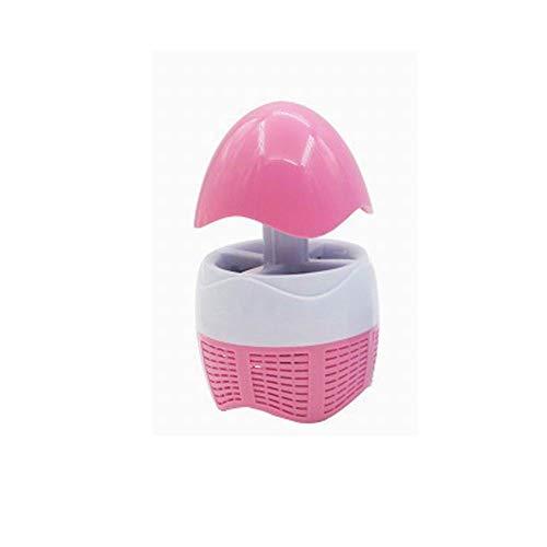 Moskito Lampe Mückenschutz Lampe einziehbare Photokatalysator LED home outdoor Pilz Mückenfalle Mückenlampe USB-Kopf (Rosa) -
