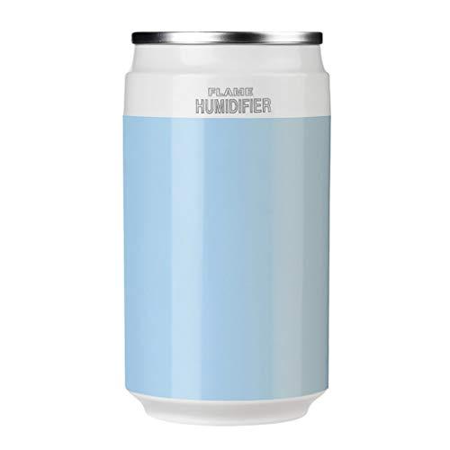 HZTWS Umidificatore a ultrasuoni Veicolo, la depurazione dell'Aria di Grande capacità Spray ad Aria Piccolo umidificatore, Adatta for L'Ufficio di casa (Color : Blue)