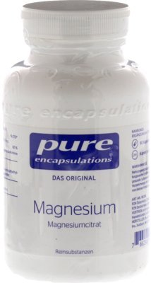 Pure Encapsulations Magnesium (Magnesiumcitrat) 90 Kapseln