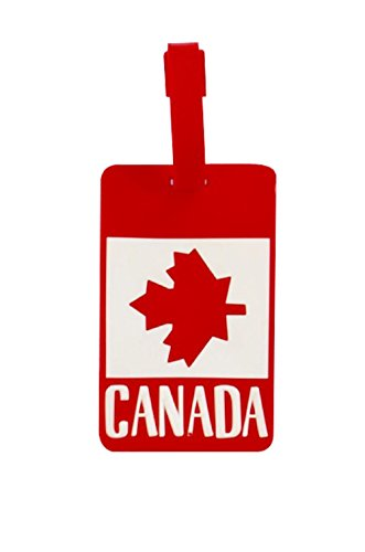 NOVAGO-tiquette--bagages-tiquette-valise-Drapeau-Canada