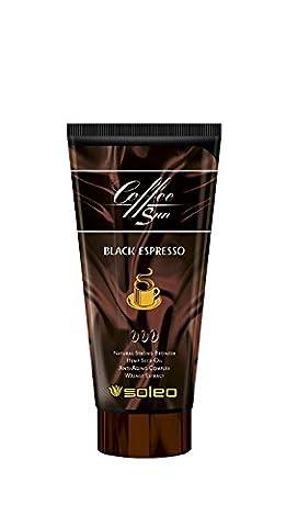 Soleo Coffee Sun Black Espresso Sunbed Tanning Lotion Bronzing Cream