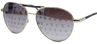 Outlet zu verkaufen bis zu 80% sparen erstaunliche Qualität Louis Vuitton Damen Sonnenbrille Gold Gold: Amazon.de ...