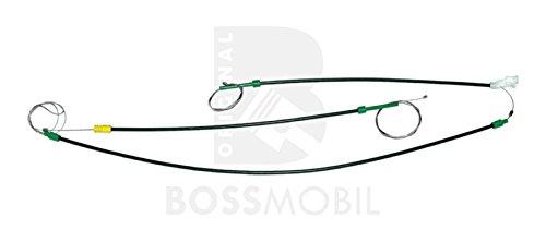 Original Bossmobil BORA, VENTO, Vorne Rechts 2Tür und 4 Tür, manuell oder elektrischer Fensterheber-Reparatursatz