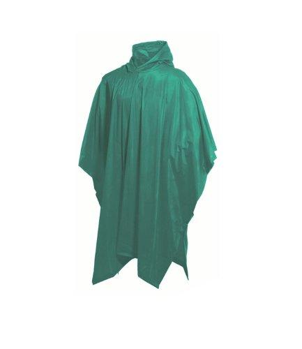 Highlander Unisex Poncho, wiederverwendbar Grün - Grün