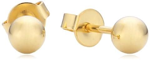 Esprit Damen-Ohrstecker Silber vergoldet rhodiniert Ohne ESER92638C000