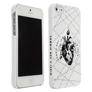 iSkin Zombie Boy X Schutzhülle für iPhone 5 (Motiv Blutendes Herz) (Blutendes Herz)