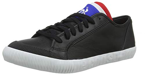 Le Coq Sportif Unisex-Erwachsene Nationale Black Sneaker, Schwarz, 37 EU