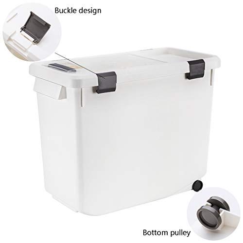 Contenitore per riso contenitore grande per riso contenitore per riso incorporato a prova di insetto cucina domestica con coperchio contenitore per riso sigillato contenitori per alimenti