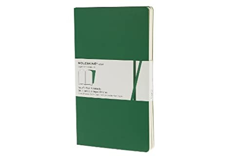 Moleskine Plain Volant Emerald Green Large