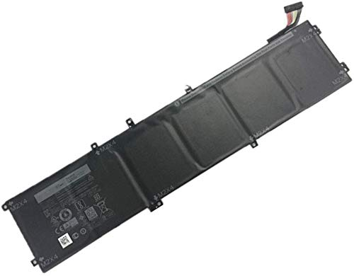 97Wh 6GTPY Batteria di Ricambio per Dell XPS 15 2018 9570 XPS 15 2017 9560 I7-7700HQ XPS 15 7590 Precision 5520 5530 Workstation Series Notebook 5XJ28 5D91C 6-Cell 11.4V