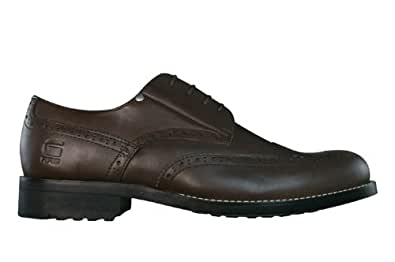 G-Star Raw Manor Sutton Brogue Mens Leather Shoes - Brown - SIZE UK 10