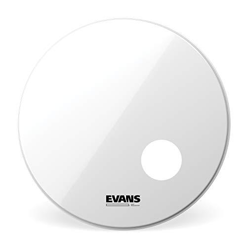 Evans BD18RSW Resonanzfell für Bassdrum 45,7 cm (18 Zoll) Loch 12,7 cm (5 Zoll) weiß