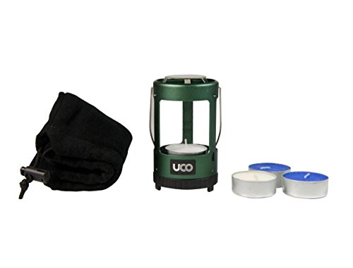 UCO Unisex Mini-eloxiert Kerze Laterne Kit, Grün, ONE Size