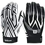Wilson The Clutch Skill American Football Receiver Handschuhe - weiß Gr. M