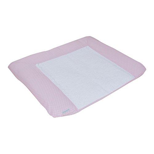 LITTLE DUTCH 4109 Wickelauflagenbezug sweet pink Gr. 75x85 cm
