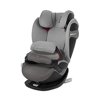 Cybex - Silla de coche grupo 1/2/3 Pallas S-Fix, silla de coche 2 en 1 para niños, para coches con y sin ISOFIX, 9-36 kg, desde los 9 meses hasta los 12 años aprox.Manhattan Grey (B07GL3H64B) | Amazon Products