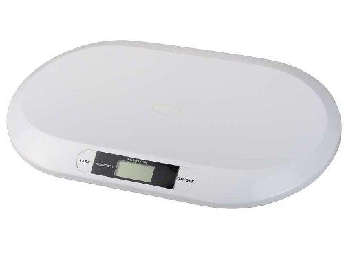 Digitale Babywaage Säuglingswaage Waage bis 20 kg (Auflösung: 10 g + inkl. Batterie) (Digital Waage Gramm Auflösung)
