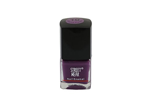 Street Wear Nail Enamel, Groovy Purple, 8ml