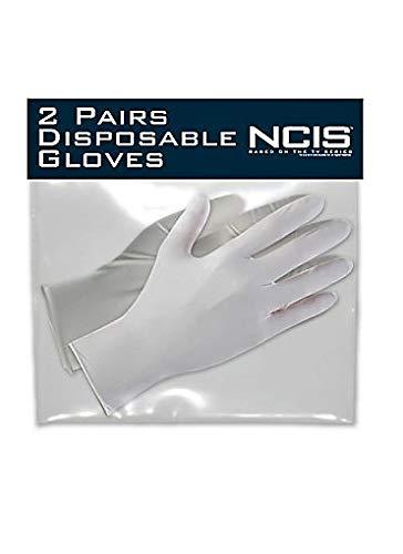NCIS , 2 Paar Einweghandschuh zur Serie Navy CIS , aus den USA von CBS , Kostüm Fasching - Abby Ncis Kostüm