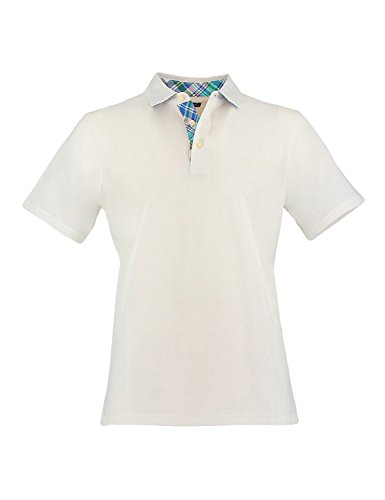 Herren Poloshirt Regular Fit Kurzarm 110 White