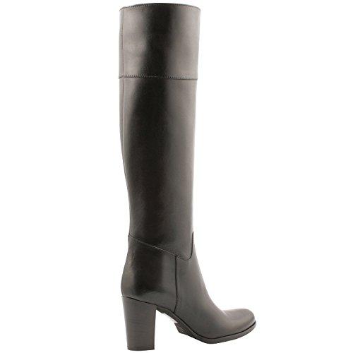 Exklusives Fable Paris Damen Stiefel, Schuhe Schwarz - Schwarz