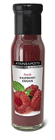 Atkins & Potts - Fresh Raspberry Coulis - 250g (Case of 6)