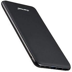Batterie Externe 26800mAh Power Bank Chargeur Portable Li-Polymère Autorisé en Avion avec 4 Port iSmart Sorties et 3 Entrées pour iPhone 6s/7/6/x Samsung Huawei Macbook ipad Nintendo Switch (Noir)