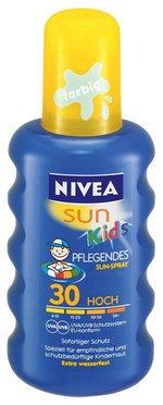 Nivea Set 2 Pezzi Latte Solare Kids Colorato Spf 20 200 ml cad.