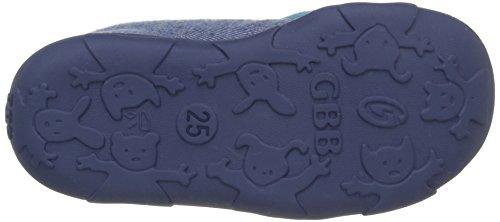 GBB Meziane, Chaussons montants Doublé Chaud garçon Bleu (52 Ttx Jeans-Turquoise Dtx/Amis)