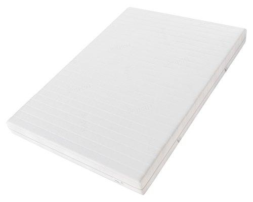 Hilding Sweden HA395 Latexmatratze, Schaumstoff, Weiß, 200 x 90 cm