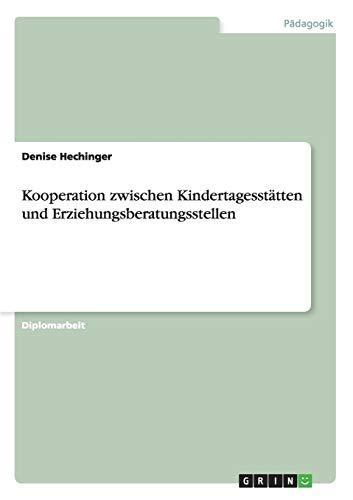 Kooperation zwischen Kindertagesstätten und Erziehungsberatungsstellen
