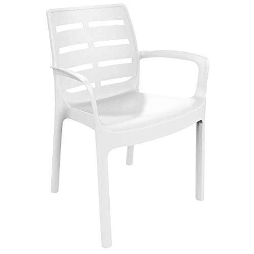 Chaise Borneo Blanc