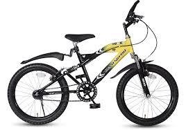 Hero Foxx 20T Single Speed Yellow/Black  6 to 11 Years  Cycles