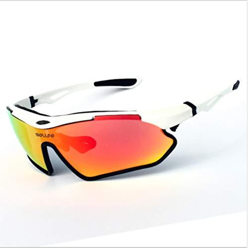 Retro Vintage Sonnenbrille, für Frauen und Männer Langlebig polarisierte Sport Sonnenbrille männer Frauen tr90 Rahmen Radfahren Baseball Golf Klettern Laufen Angeln (Farbe : A002)