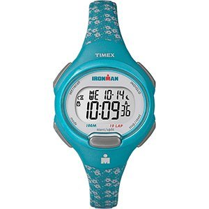 Timex IRONMAN Essential 10 Mid-Size Watch - Teal/Gray (1 Oval-türkis-armband)