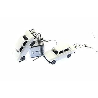 Trabi Ohrringe Auto Trabant Trabbi Ohrhänger Miniblings Modell 1 160 weiß