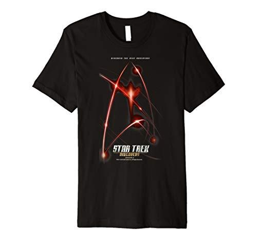 Star Trek Discovery Season 2 Logo Graphic T-Shirt (Trek T-shirts Star)