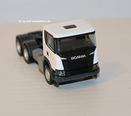 Herpa 309745 Scania CG 6x6 Zgm, Color Blanco