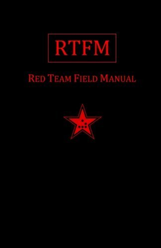 Rtfm: Red Team Field Manual (Paperback) - Common